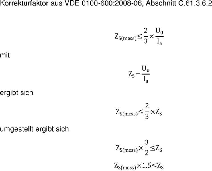 Schleifenimpedanz Berechnen : schleifenimpedanzmessung seite 2 ~ Themetempest.com Abrechnung